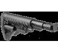 Телескопический складной приклад с амортизатором для САЙГА/AK-74M/АК-100-ые серии