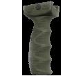 Эргономичная обрезиненная тактическая рукоятка на цевье REG