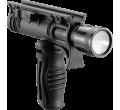 Складная тактическая рукоять с креплением для фонаря диаметром 1 дюйм