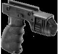 Тактическая рукоять с креплением для фонаря диаметром 1 дюйм T-GRIP-R