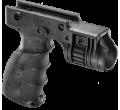 Тактическая рукоять с креплением для фонаря диаметром 1 дюйм