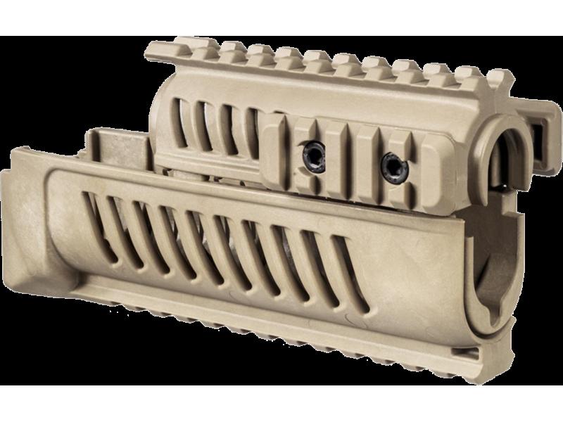 Полимерное цевье для AK47АК74САЙГА FABDefense AK47 бежевая