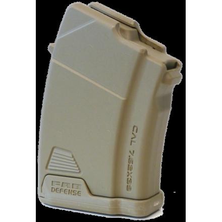 Полимерный магазин 7.62x39 FAB Defense на 10 патронов для AK Ultimag AK 10R бежевый