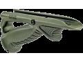 Эргономичная наклонная  рукоятка FAB-Defense PTK зеленая