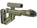 Приклад складной  с упором щеки для АК47/АК74 FAB-Defense UAS-AK P