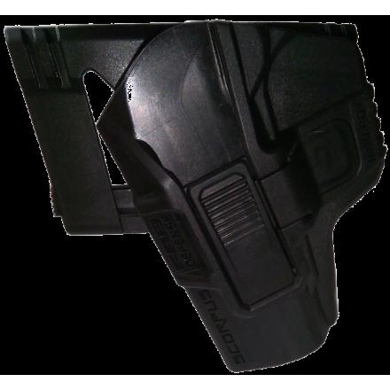Кобура M24 с кнопкой на ремень для Макарова (левша)