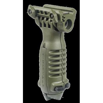 Быстросъемная тактическая передняя рукоятка-сошки T-POD QR