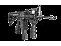 Прорезиненная тактическая рукоять FAB-Defense REG черная