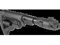 Приклад телескопический складной с амортизатором для АК47/74 FAB-Defense M4-AK P SB