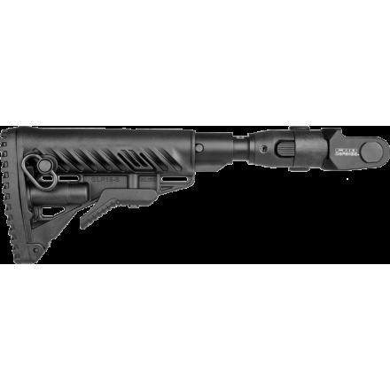 Приклад  телескопический складной с амортизатором для АКМС FAB-Defense M4-AKMS P SB