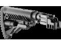 Приклад телескопический с амортизатором для АК47/74 FAB-Defense SBT-K47 FK