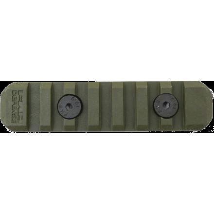 Полимерная планка Пикатинни на M-LOK цевья Vanguard, 7 слотов