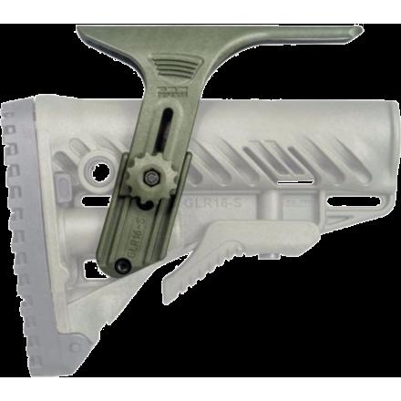 Подщечник для приклада GLR-16 FAB-Defense GCP зеленый