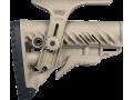 Приклад для AR15/M16/АК/САЙГА FAB-Defense GLR-16 CP бежевый