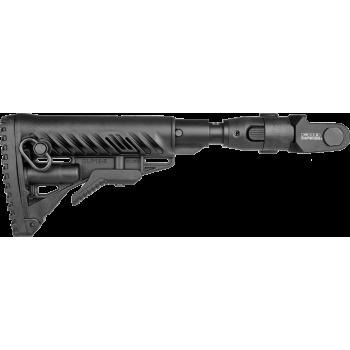Складной телескопический приклад с амортизатором для АКМС