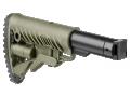 Приклад телескопический складной для САЙГА/AK-74M/АК-100-ые серии FAB-Defense M4-SAIGA