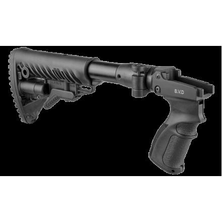 Снайперский складной приклад на СВД М4 SVD