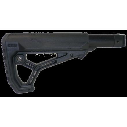 Приклад телескопический складной для САЙГА/AK-74M/АК-100-ые серии FAB-Defense C-SAIGA