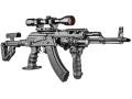 Приклад складной  для АКМС FAB-Defense UAS-AKMS P