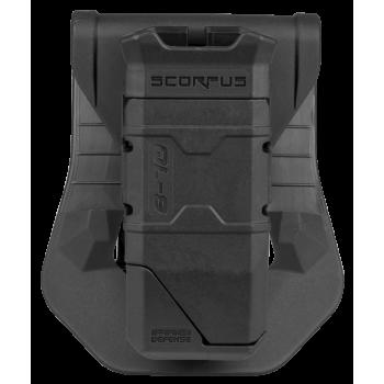 Одинарный пенал для магазинов Glock 9мм c заряжателем и креплением Paddle
