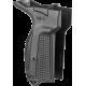 Рукоятка для пистолета Макарова (черная) для левши