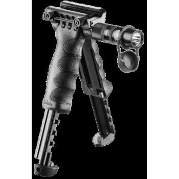 Тактическая рукоять-сошка с фонарем T-POD G2 SL