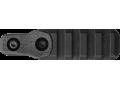 Полимерная планка Пикатинни на M-LOK цевья Vanguard, 4 слота