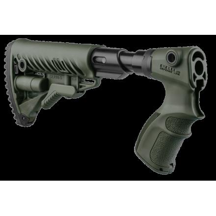 Приклад  телескопический с амортизатором для Remington 870 FAB-Defense AGR870 FK SB