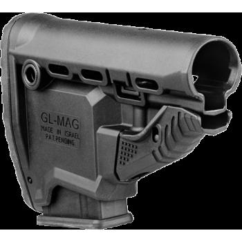 Полимерный приклад GL-MAG с магазином для M4/AR15 на 10 патронов