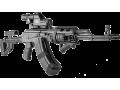 Эргономичная наклонная  рукоятка FAB-Defense PTK черная
