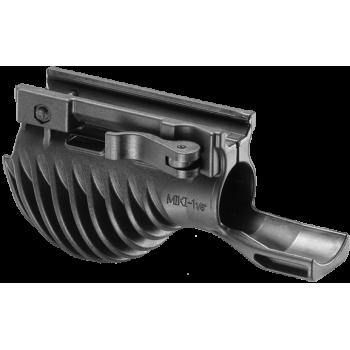 Комбинированная тактическая рукоятка с держателем фонаря MIKI 1
