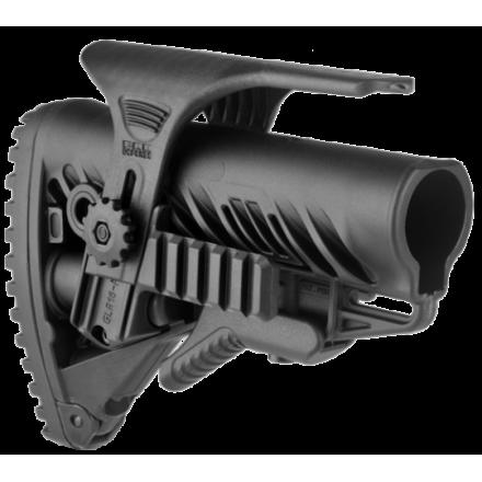 Приклад для AR15/M16/АК/САЙГА FAB-Defense GLR-16 PCP