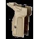 Рукоятка для пистолета Макарова (бежевая) для левши